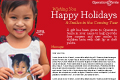 Cam Ly Red Holiday Card
